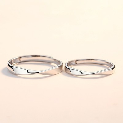 Couple Clémence Silver Ring