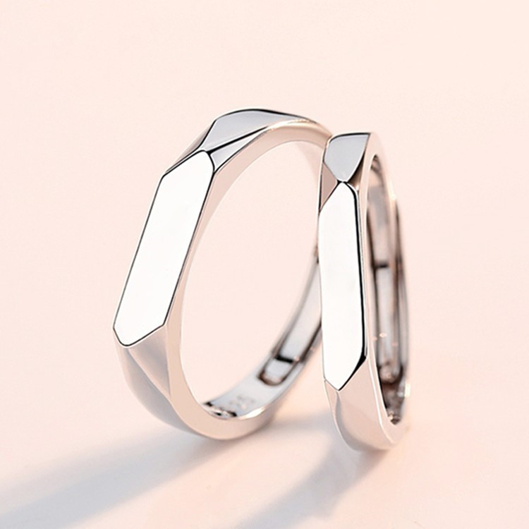 Couple Eve Vintage Silver Ring